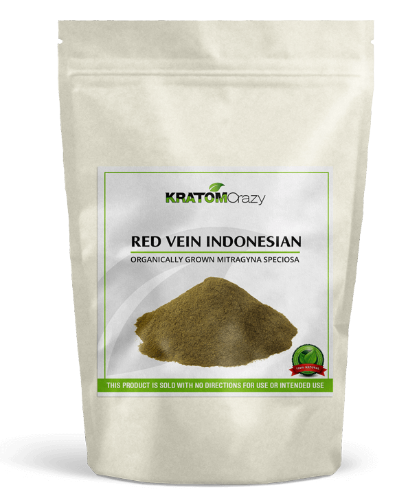 Red Vein Indonesian Kratom Crazy