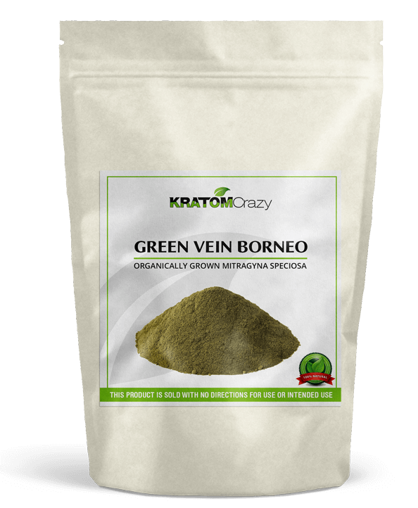 Green Borneo Kratom Crazy