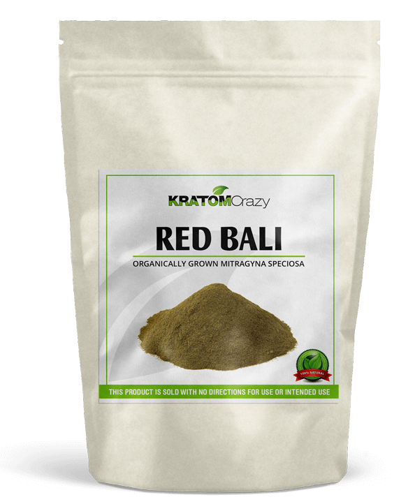 Red Vein Bali Kratom Crazy