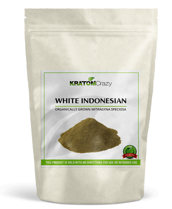 White Vein Indonesian Kratom Crazy