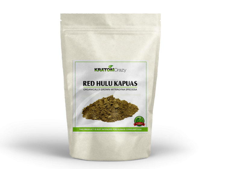 Red Hulu Kapuas Kratom Crazy